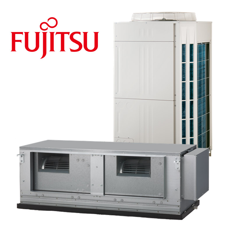 Fujitsu 20kw Ducted Reverse Cycle Three Phase Omegaair